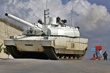 The UNIFIL force in southern Lebanon have found themselves with little to do.