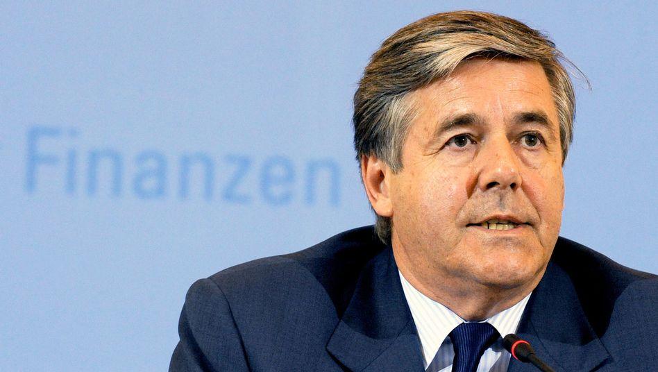 Deutsche-Bank-Chef Ackermann: Geldinstitute sehen sich hart getroffen
