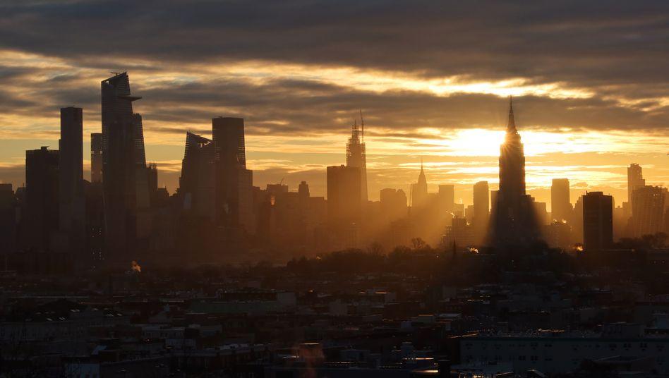 Skyline von Manhattan: Schon kleine Verbesserungen der Luftqualität haben einen großen Effekt