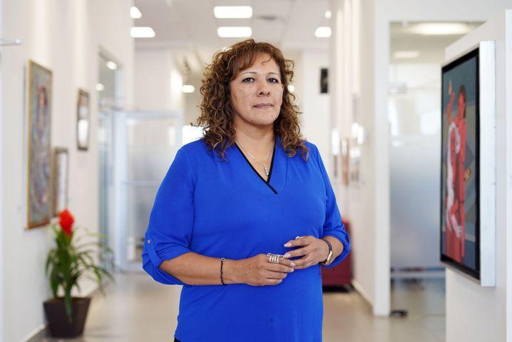 In der Coronakrise muss Verónica Corchado, die Leiterin des Fraueninstitutes in Juárez, verstärkt gegen die zunehmende häusliche Gewalt kämpfen.