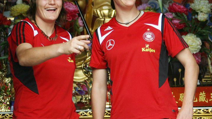 Frauenfußball: Deutschlands Kickerinnen und ihr Plan B