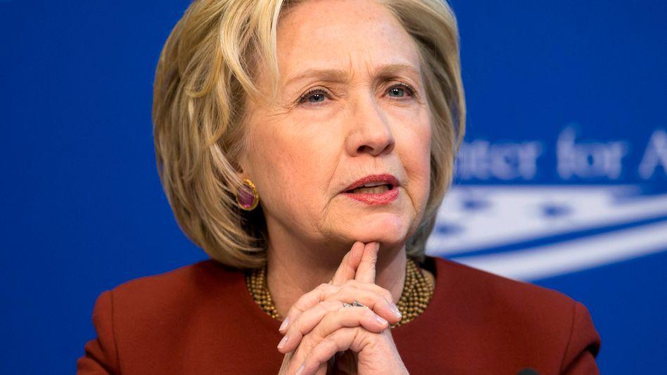 US-Präsidentschaftskandidatin Hillary Clinton: Republikaner kritisieren Krisenmanagement