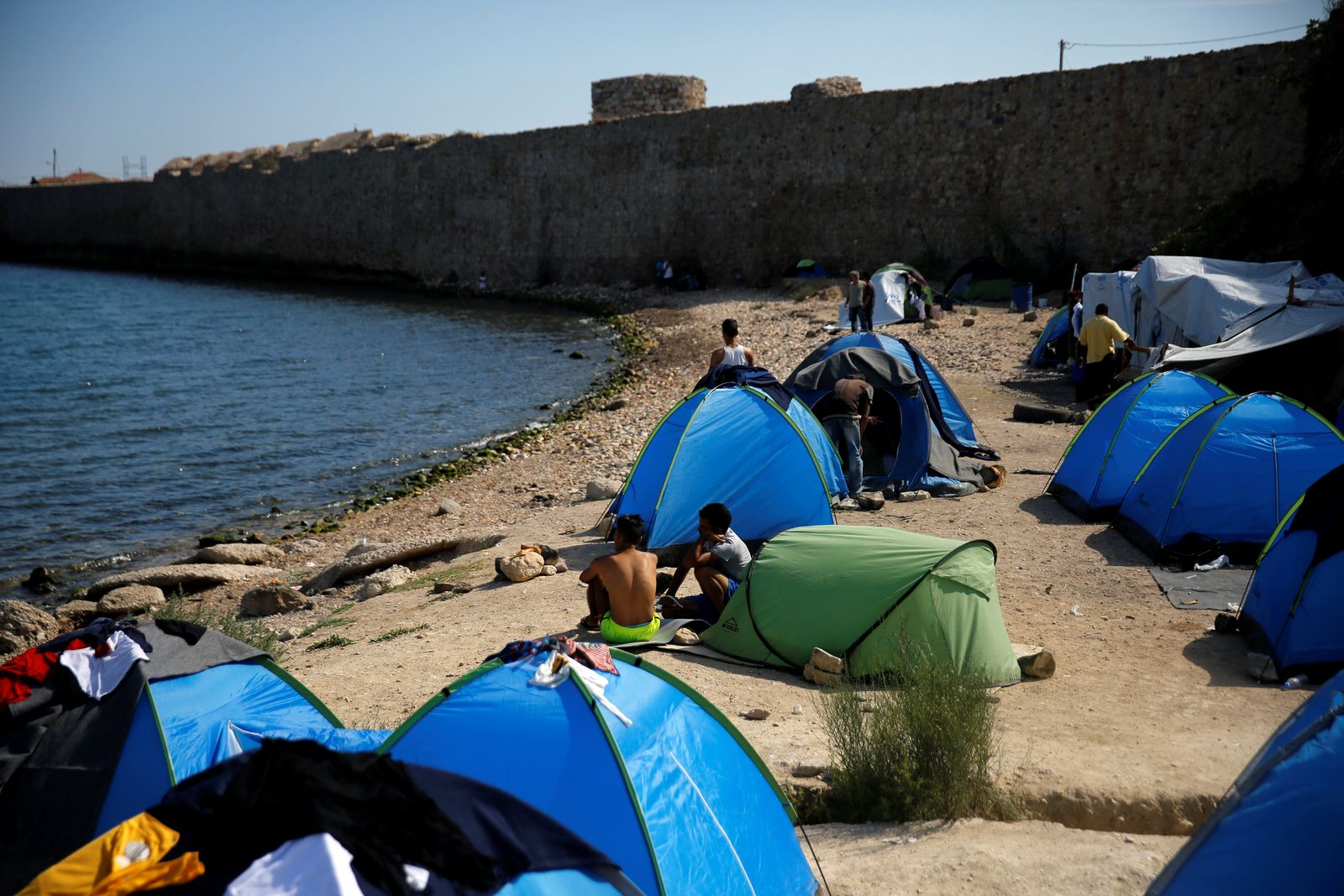 Griiechenland / Flüchtlinge / Migranten