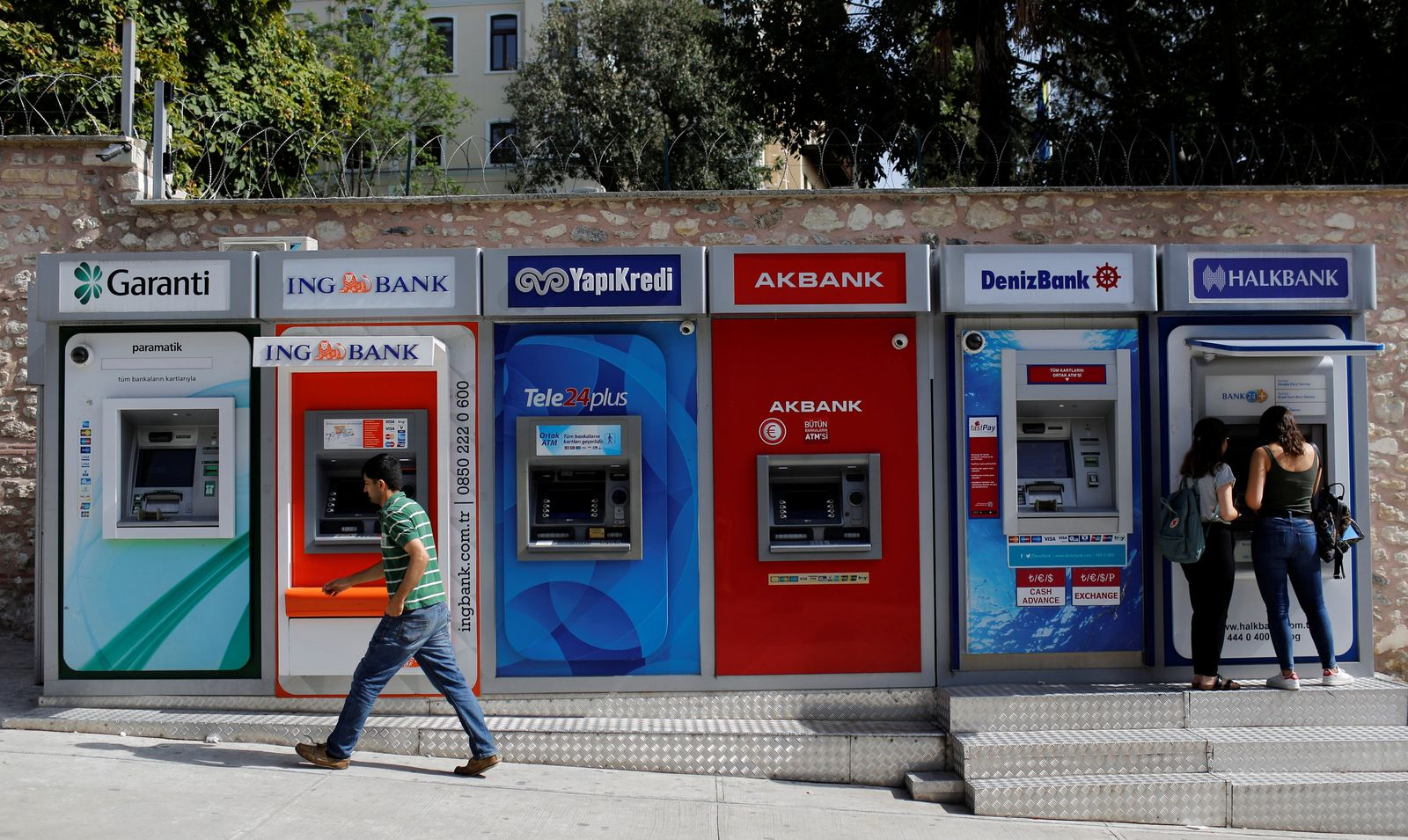 Türkei / Geldautomaten