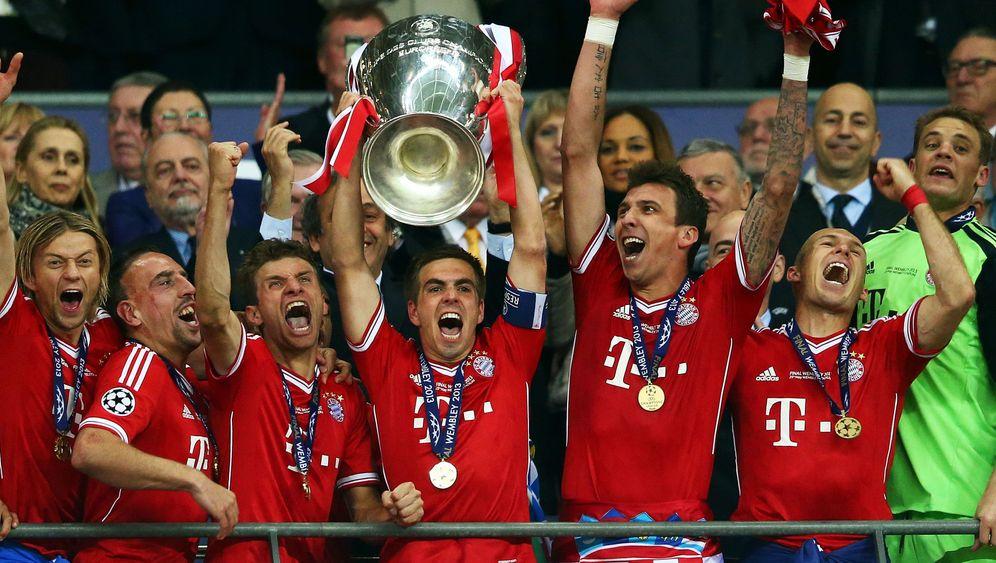 Champions-League-Finale: Bayern jubelt, Dortmund trauert