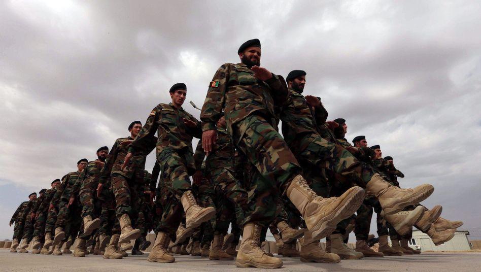 """Afghanische Soldaten: """"Die Armee ist aus dem Boden gestampft worden"""""""