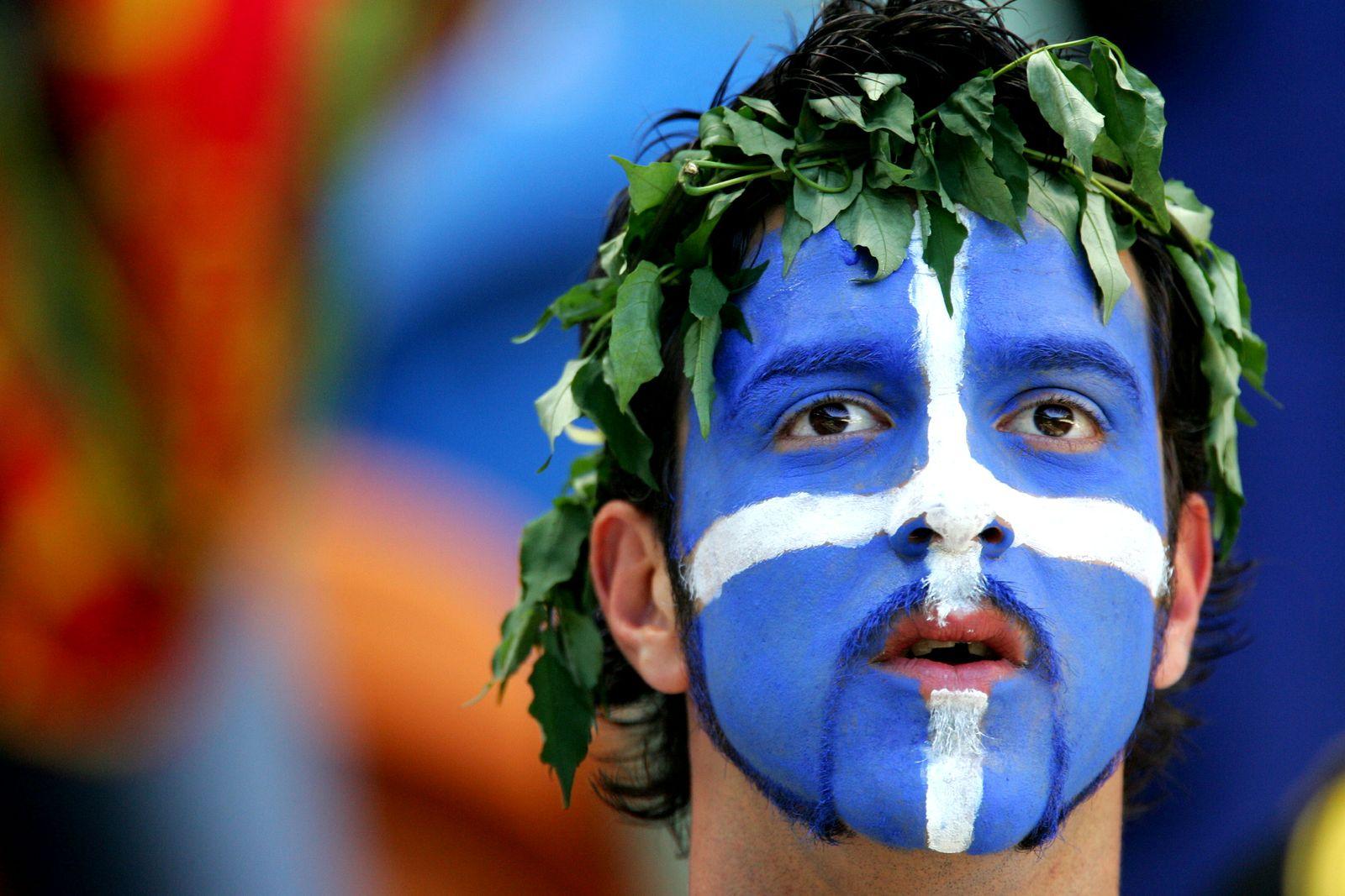 Griechischer Fussballfan