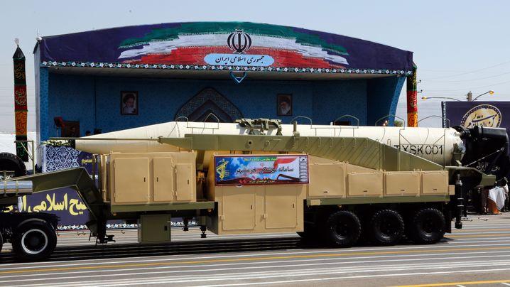 Iran: Teheran meldet Raketentest