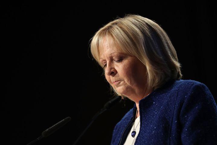 Hannelore Kraft erklärt ihren Rücktritt vom Landesvorsitz