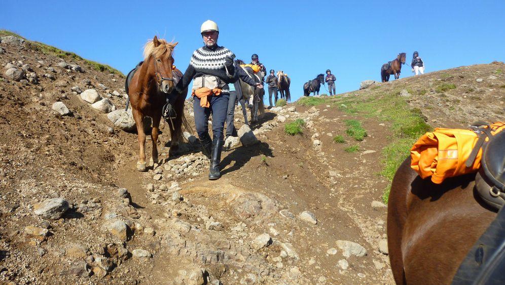 Mit dem Pferd durch Island: Der Ritt zum Vulkan