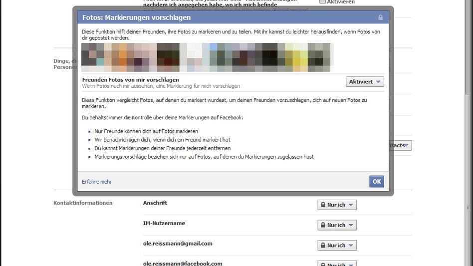 Privatsphäre-Einstellungen bei Facebook: Sieben Klicks zum Opt-Out