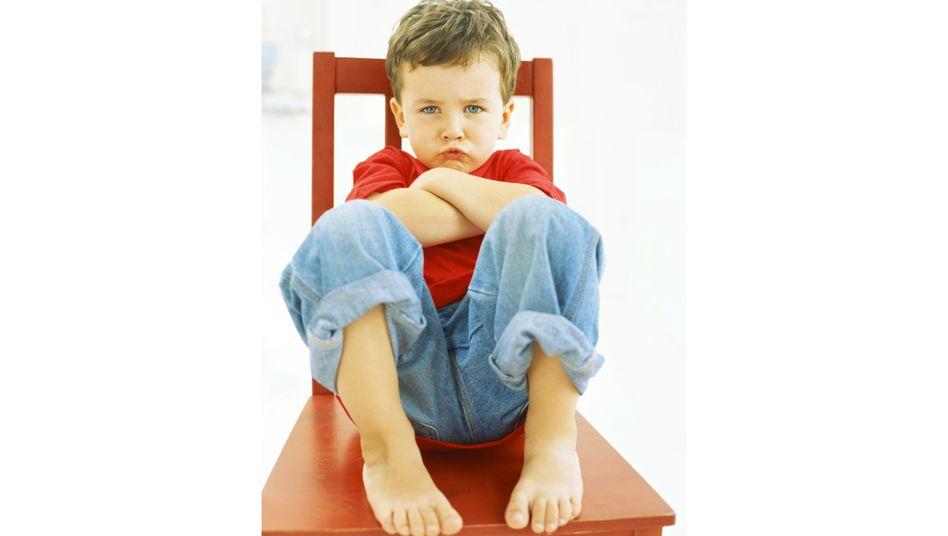 Trotziges Kind: Die neuen Ideen prallen ständig mit dem Willen der Eltern zusammen