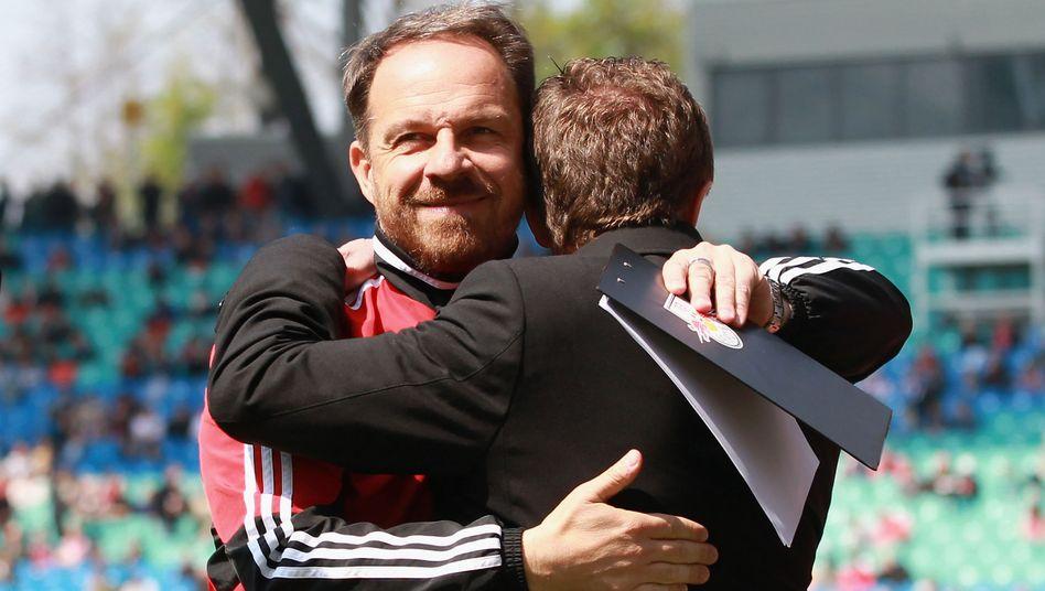 Ex-Partner Zorniger, Rangnick: Stagnation ist nicht vorgesehen