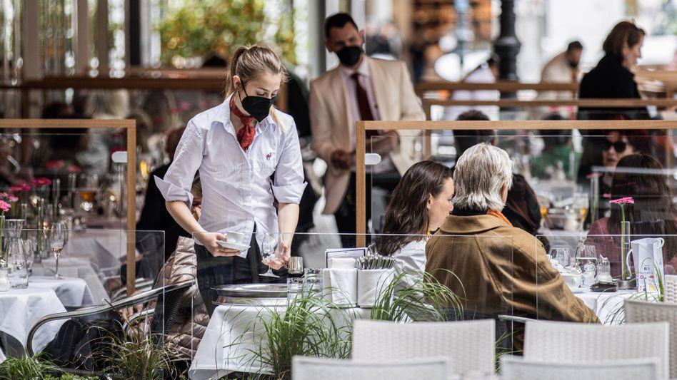 Kellnerin in Wien: »Es ist auf jeden Fall ein Problem«