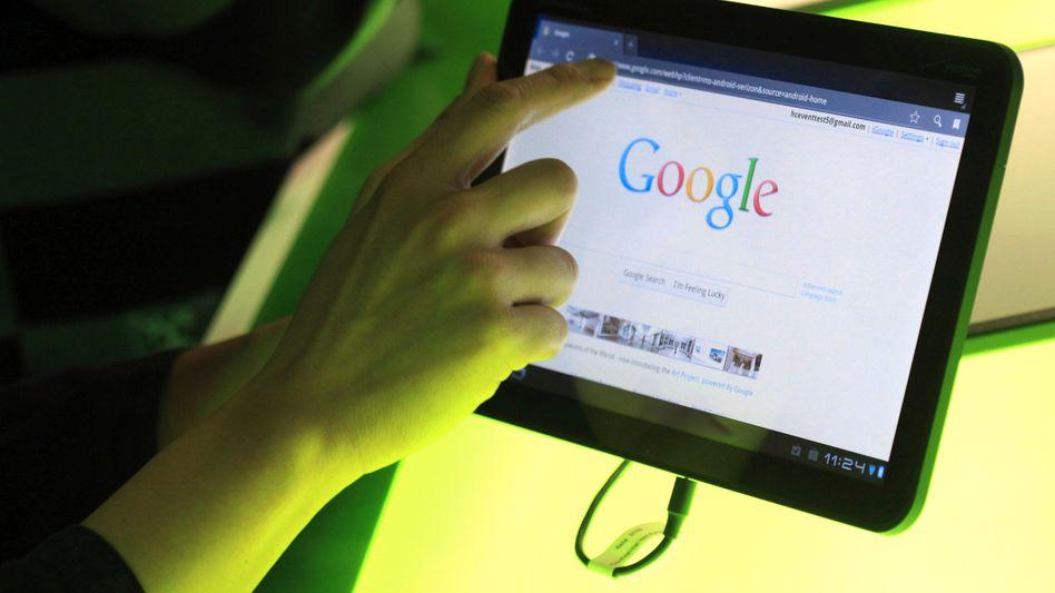 Motorola Xoom: Auf dem Tablet kommt Googles Betriebssystem Android zum Einsatz