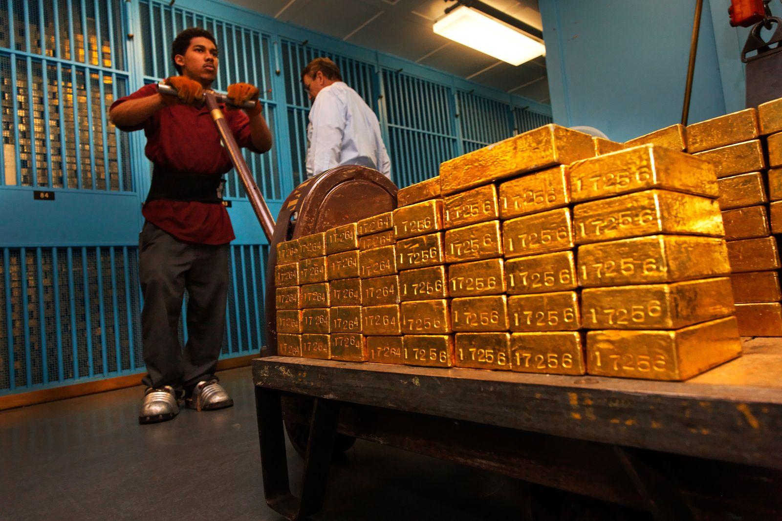 NICHT MEHR VERWENDEN! - Goldreserve / USA / Federal reserve Bank