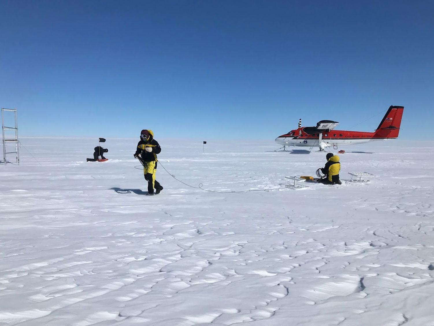EINMALIGE VERWENDUNG Antarktis