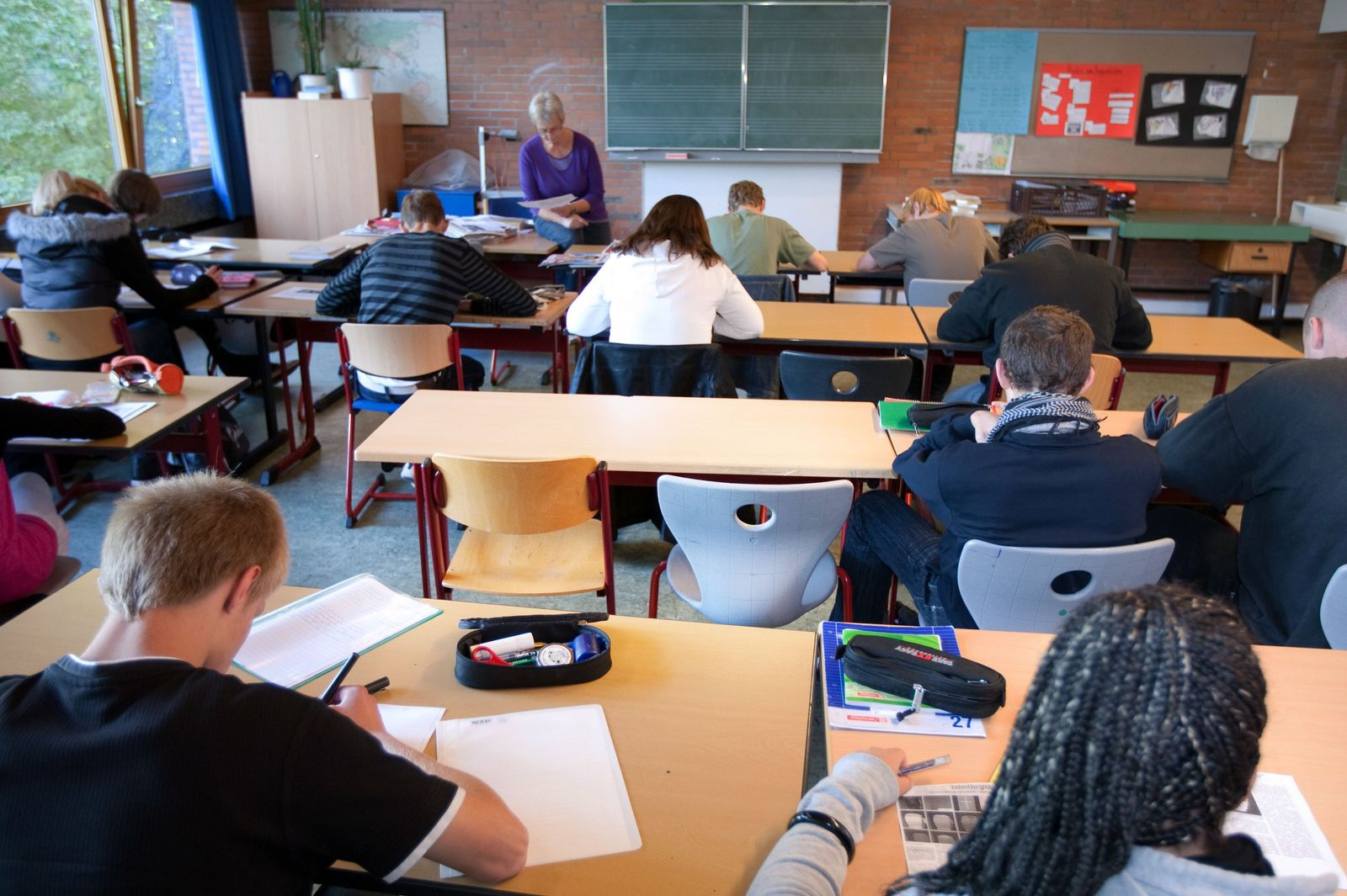 Schulverweigerer / Schulpflicht