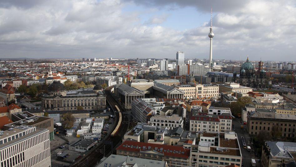 Berlin von oben: Eine Geschichtslüge als Touristenattraktion