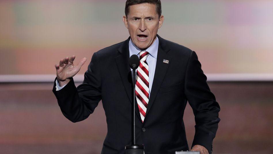 Michael Flynn beim Republikaner-Parteitag in Cleveland