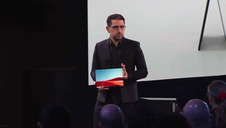 Das Pro X ist das bisher dünnste Surface-Modell