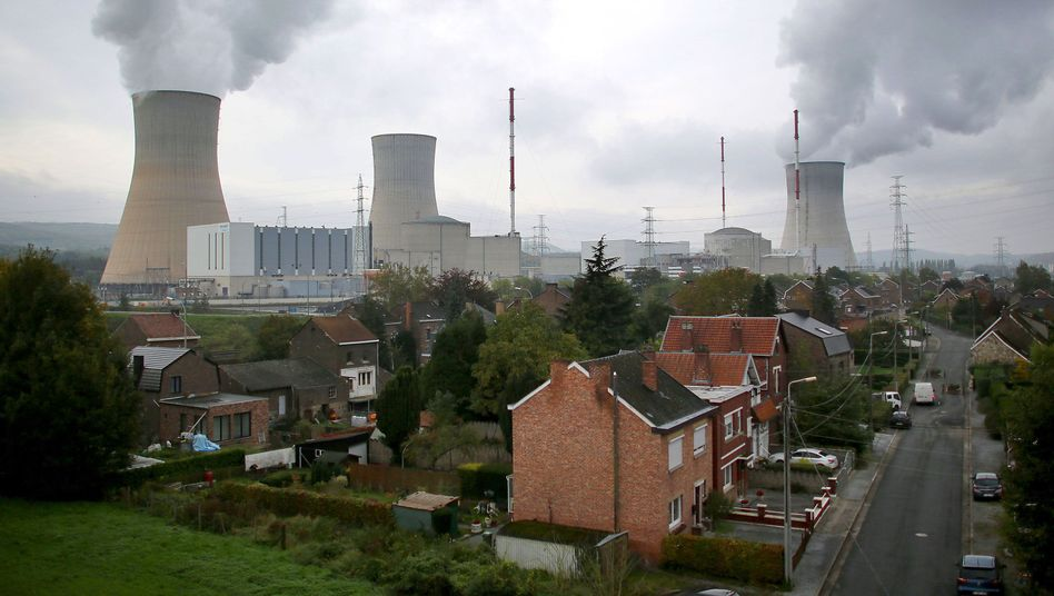 Atomkraftwerk in Tihange