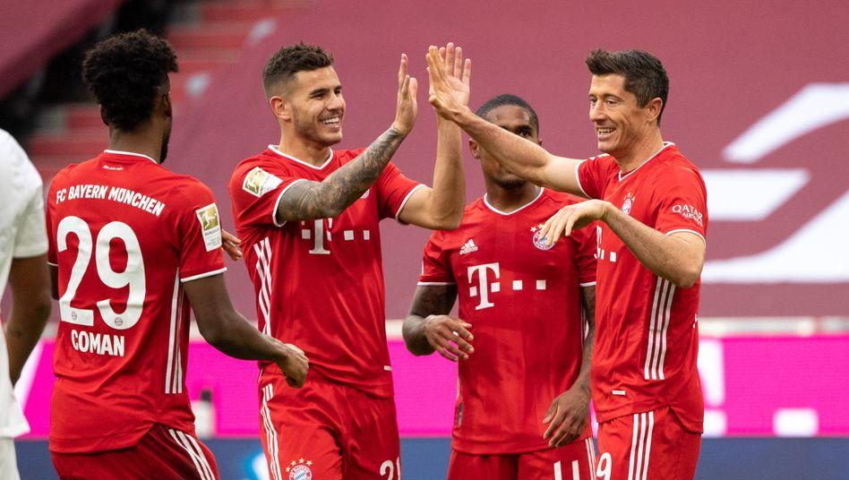 Hatten eigentlich gut lachen, die Bayern. Eigentlich