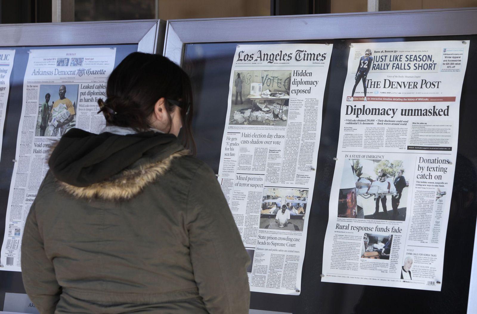 Zeitungen / Los Angeles Times
