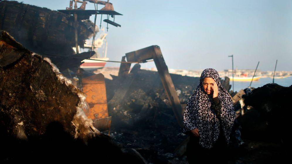 Gazastreifen: Alle vier Minute ein Einschlag