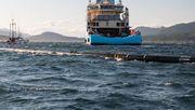 Meeresstaubsauger ist wieder im Wasser