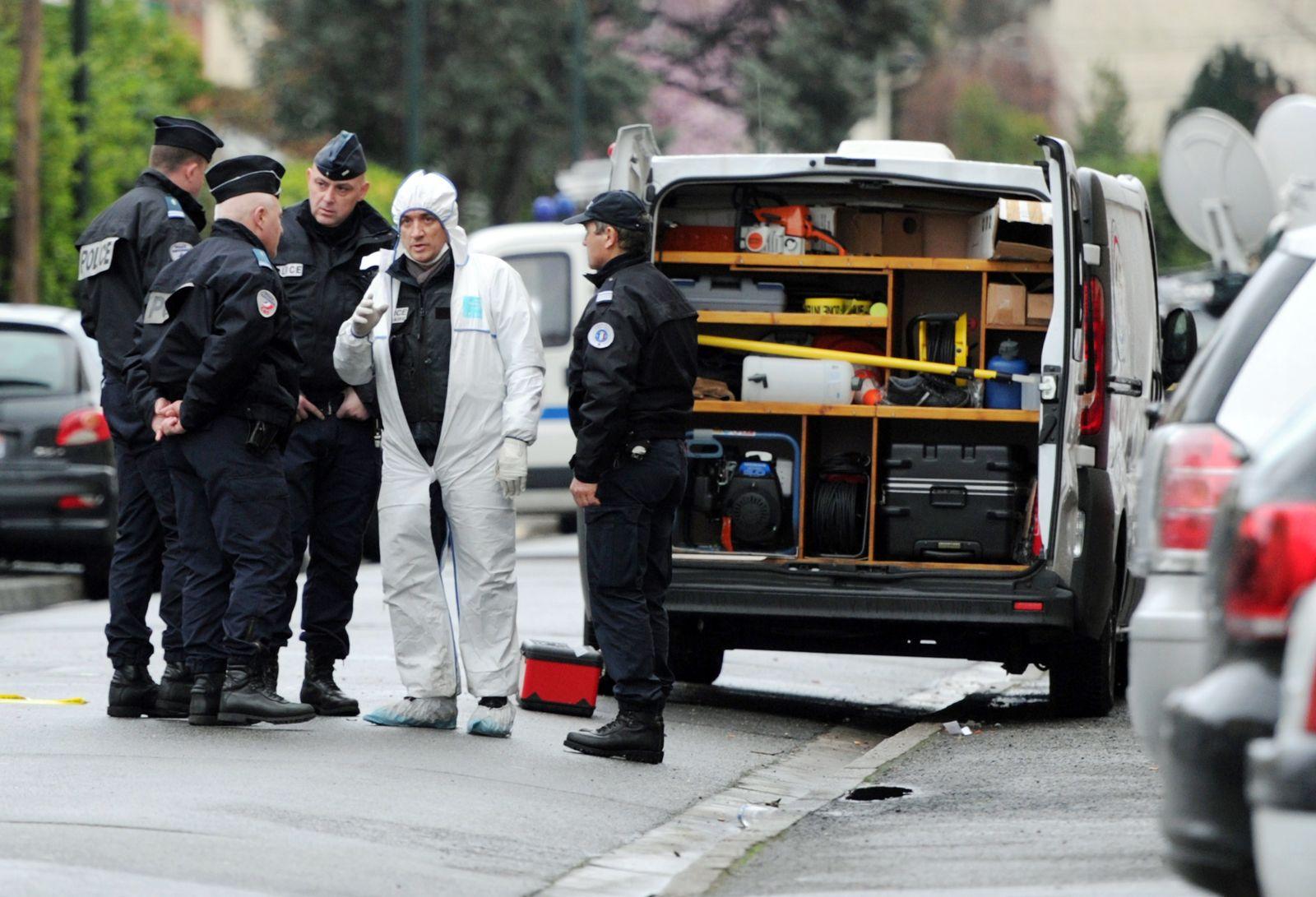 Toulouse Merah Polizisten