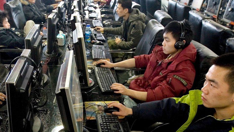 Surfer in einem Internet-Café in Peking (2009): Die Filtertechnik wird immer effektiver