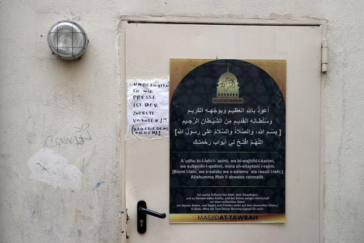 Eingang der Berliner Fussilet-Moschee