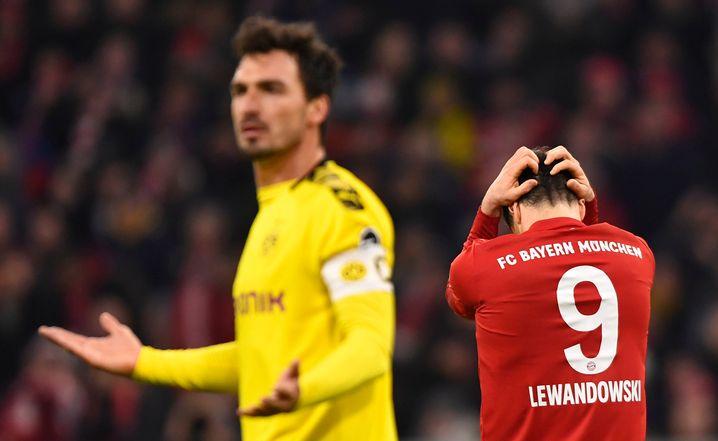 Im November vergangenen Jahres deklassierte der FC Bayern den BVB 4:0