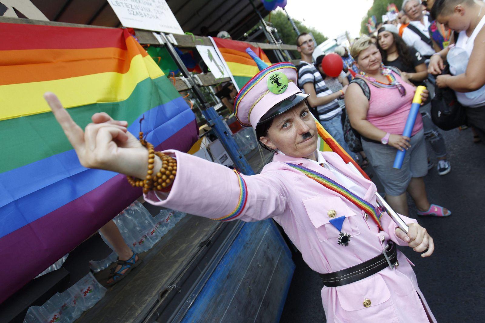 Gay Pride/ Hitler / Paragraph 175