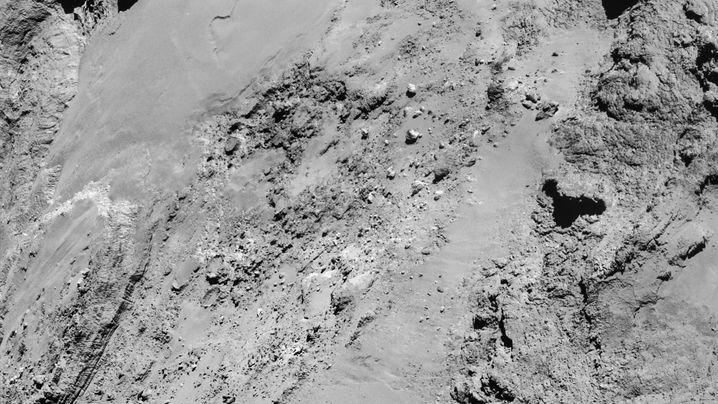 """Mission """"Rosetta"""": Annäherung an den Kometen"""