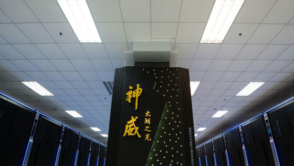 Chinesischer Supercomputer Sunway Taihulight