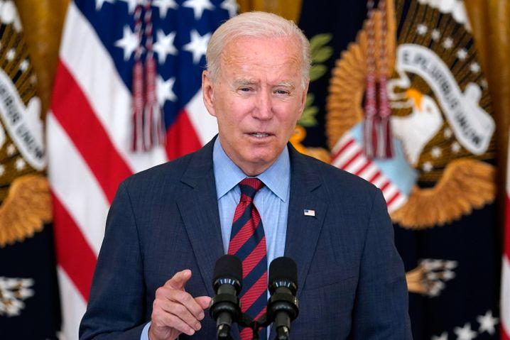 US-Präsident Joe Biden im Weißen Haus