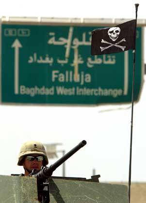 US-Soldat in Falludscha: Luftangriff fordert 14 Tote