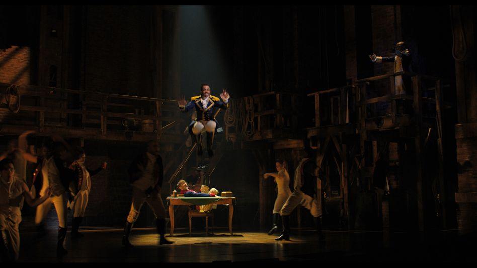 """Broadway-Show """"Hamilton"""": Mitreißende Mischung aus Hip-Hop, R&B und Pop"""