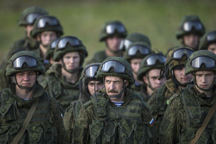 Russische Soldaten bei Manöver in Serbien: Neue Aggressivität