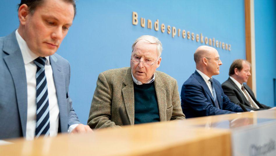 "AfD-Politiker Chrupalla, Gauland, Wolf, Nockemann: ""Hetze gegen uns"""