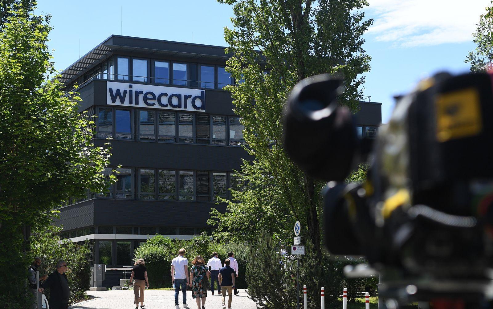 Durchsuchungen im Bilanzskandal um den Dax-Konzern Wirecard