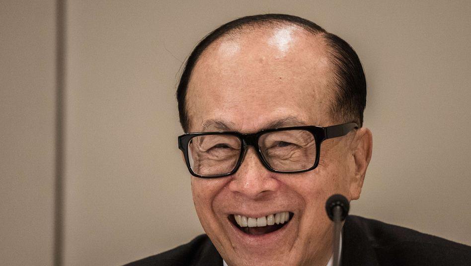 Hongkonger Immobilientycoon Li Ka-shing: Fast 30 Milliarden Dollar Vermögen