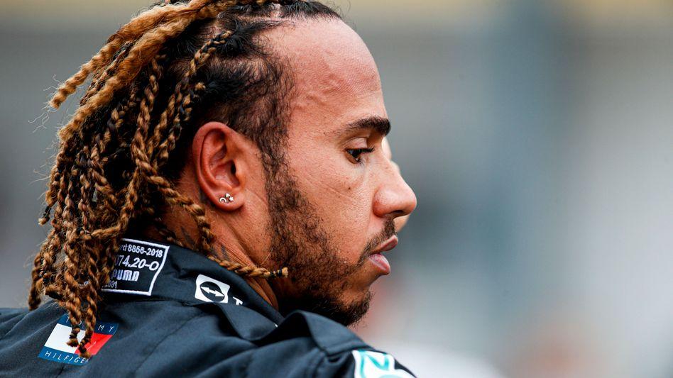 Lewis Hamilton beim Rennen in Ungarn