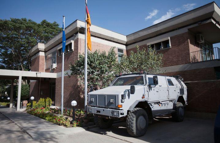 Deutsche Botschaft in Kabul (Archivfoto): Erfolglos auf die Gefährdung von Mitarbeitern hingewiesen