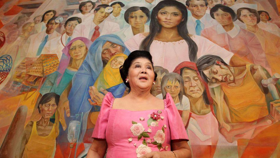 Ehemalige philippinische First Lady: Imelda Marcos