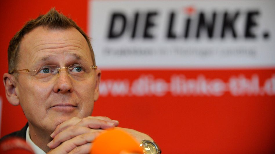 """Thüringer Linken-Chef Ramelow: """"Uns geht es nicht um einen sofortigen Abzug"""""""