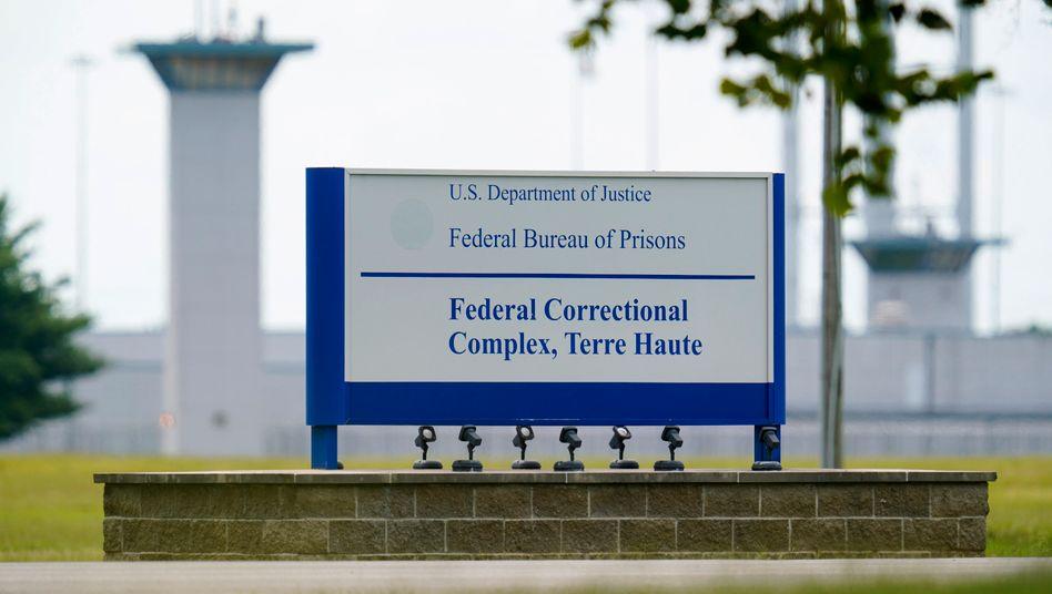 Terre Haute im Bundesstaat Indiana: Am Rande dieses Hochsicherheitsgefängnisses liegt die zentrale US-Todeskammer