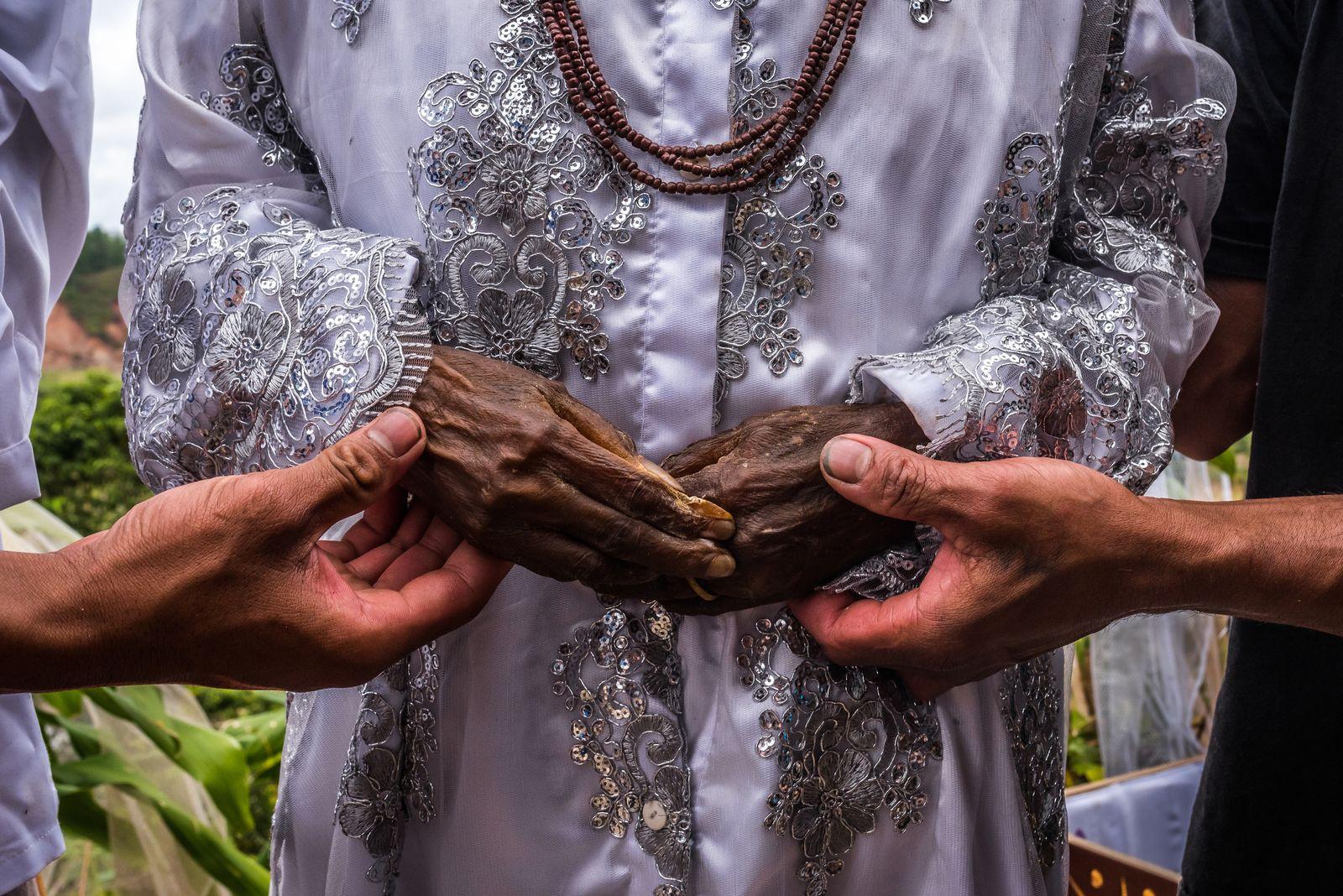 EINMALIGE VERWENDUNG Indonesia/ Sulawesi/ Tana Toraja